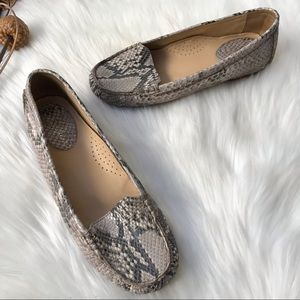 Cole Haan Alesandra Nike Air Snake Loafers Size 7